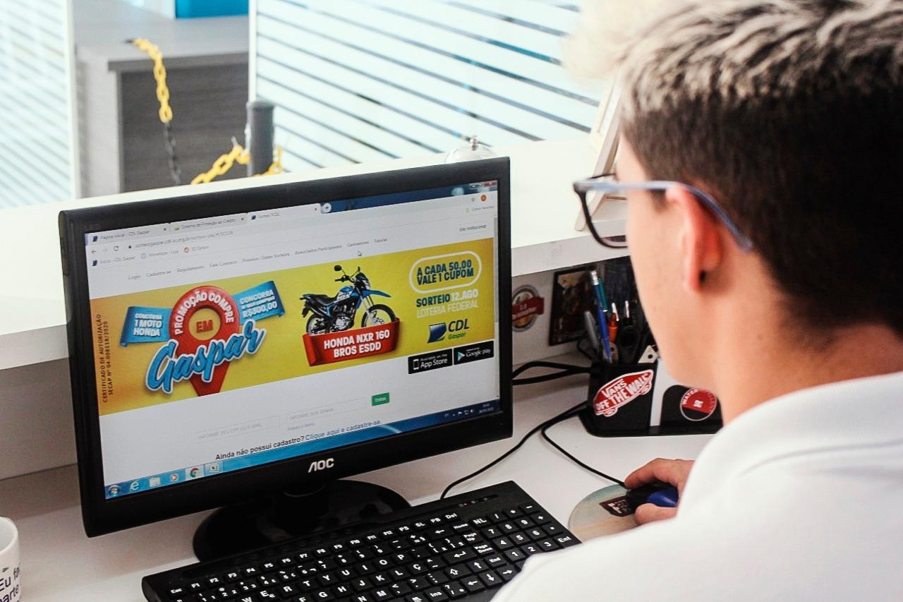 CDL Gaspar lança primeira Campanha Digital